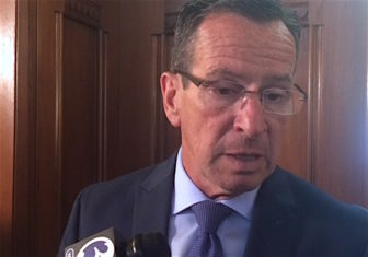 Gov. Dannel P. Malloy telling reporters last week that the state's workforce must shrink.