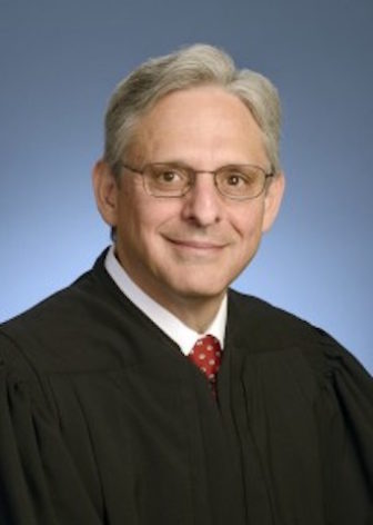 U.S. Supreme Court nominee Merrick Garland