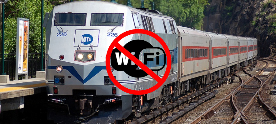 No Wi-Fi on Metro North, and here's why