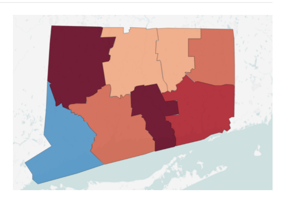 Census: Only one Connecticut county grew in population last year