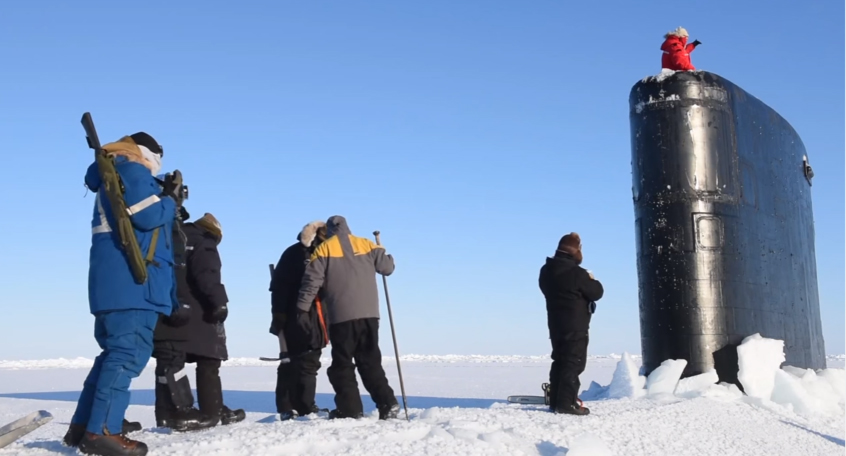 Murphy takes dive under Arctic ice to better advocate for CT subs