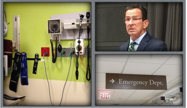 Hospitals say they face hidden, $156M tax hike in Malloy budget