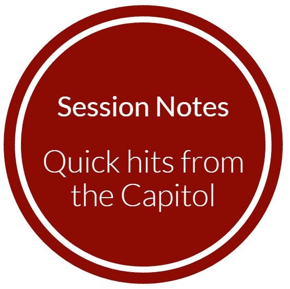 Session Notes: House passes new water fluoridation standard