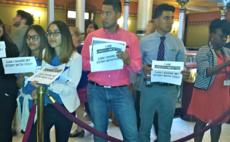 CT Students for a Dream lobby out the state House of Representatives