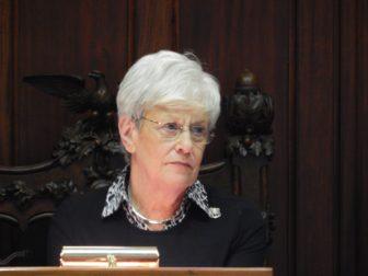 Lt. Gov. Nancy Wyman, who also serves as Senate president