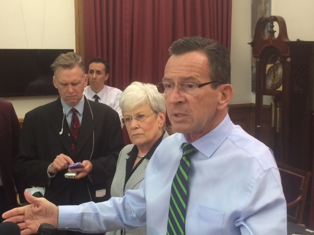 Malloy cools rhetoric, but stalemate continues on budget