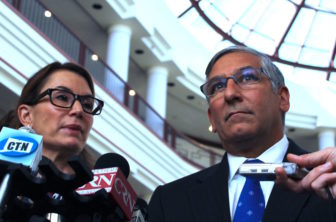 House Minority Leader Themis Klarides of Derby and Senate Minority Leader Len Fasano of North Haven blasted the Appropriation Committee's proposed budget.