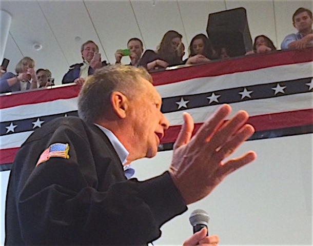 Kasich may not excite, but he says he can beat Hillary