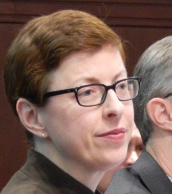 Medicaid director Kate McEvoy
