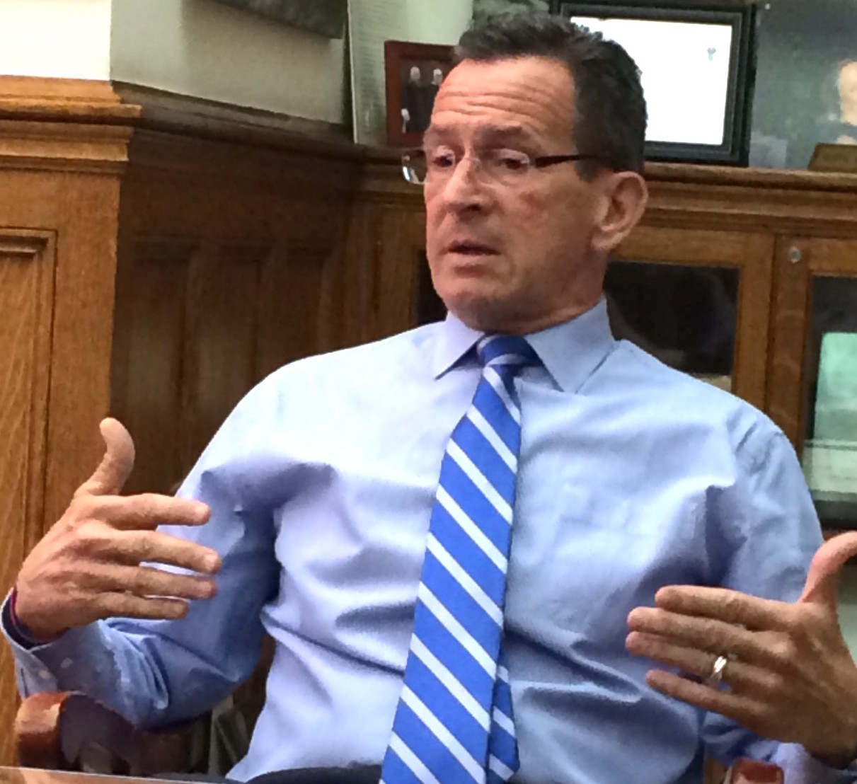 Malloy vetoes tax breaks passed on final night of session