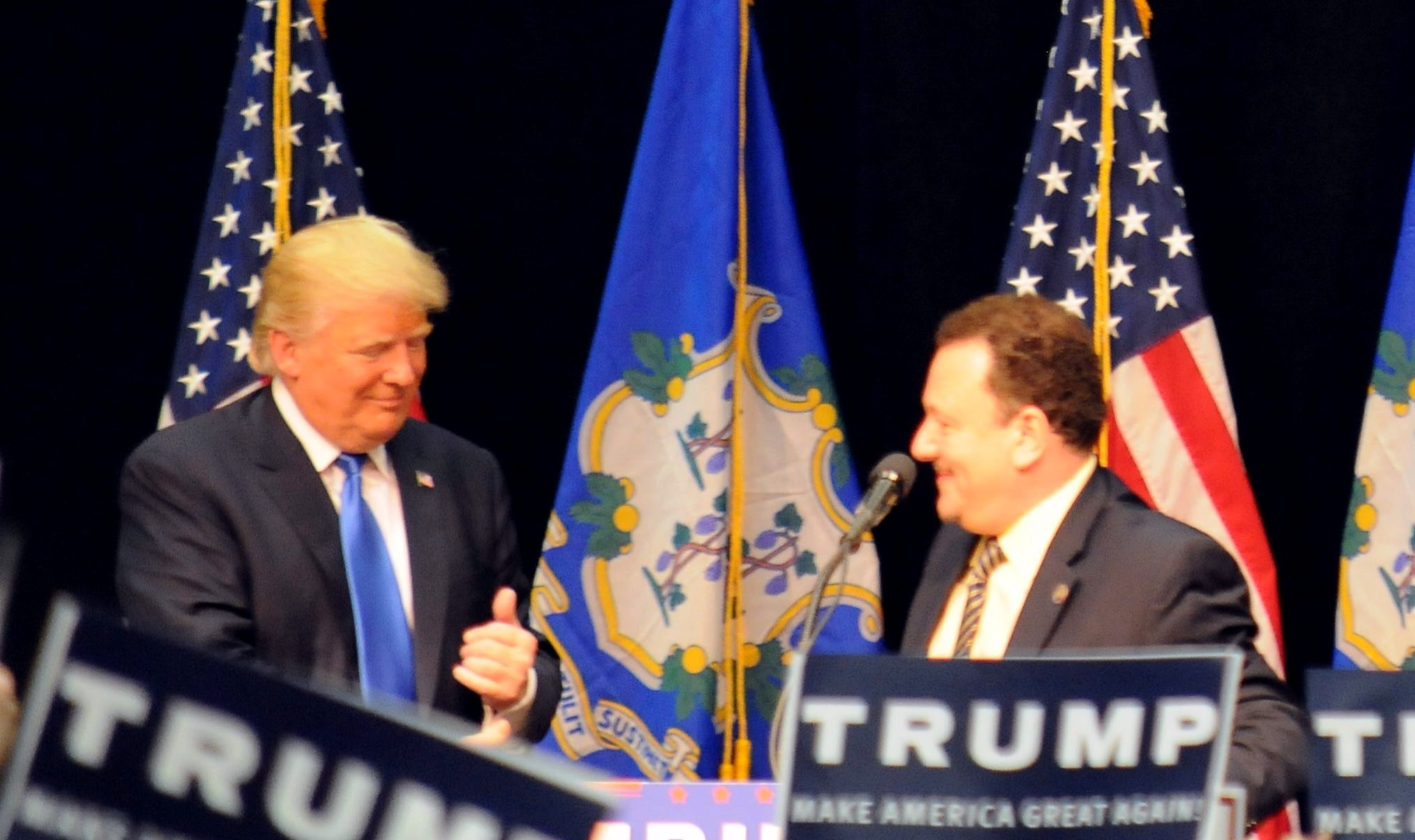 Establishment well-represented among Trump's CT delegates