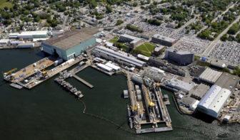 Electric Boat's Groton shipyard.