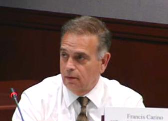 Prosecutor Fran Carino