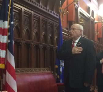 Rep. Al Adinolfi, who is retiring, led the chamber in the Pledge of Allegiance on the final day of the regular session.