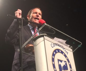 U.S. Sen. RIchard Blumenthal praised Sanders, but he's supporting Clinton.