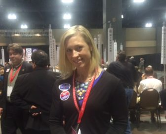 An early volunteer, Susan Hatfield of Pomfret, is a Trump delegate.