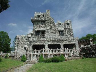 Gillette Castle State Park in East Haddam