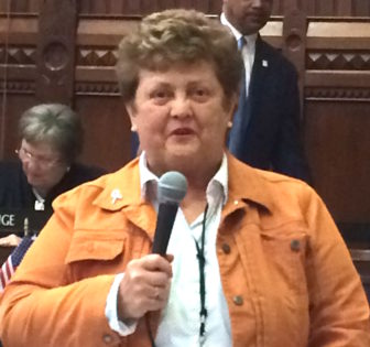 Betty Boukus, D-Plainville, co-chair of the bonding subcommittee of the legislature's Finance, Revenue and Bonding Committee.