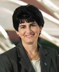 Mary Papazian, departing president of Southern Connecticut State Univerisity