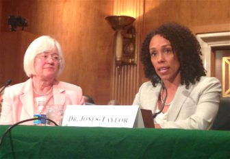 Connecticut Early Childhood Commissioner Myra Jones-Taylor testifies before Congress Wednesday.