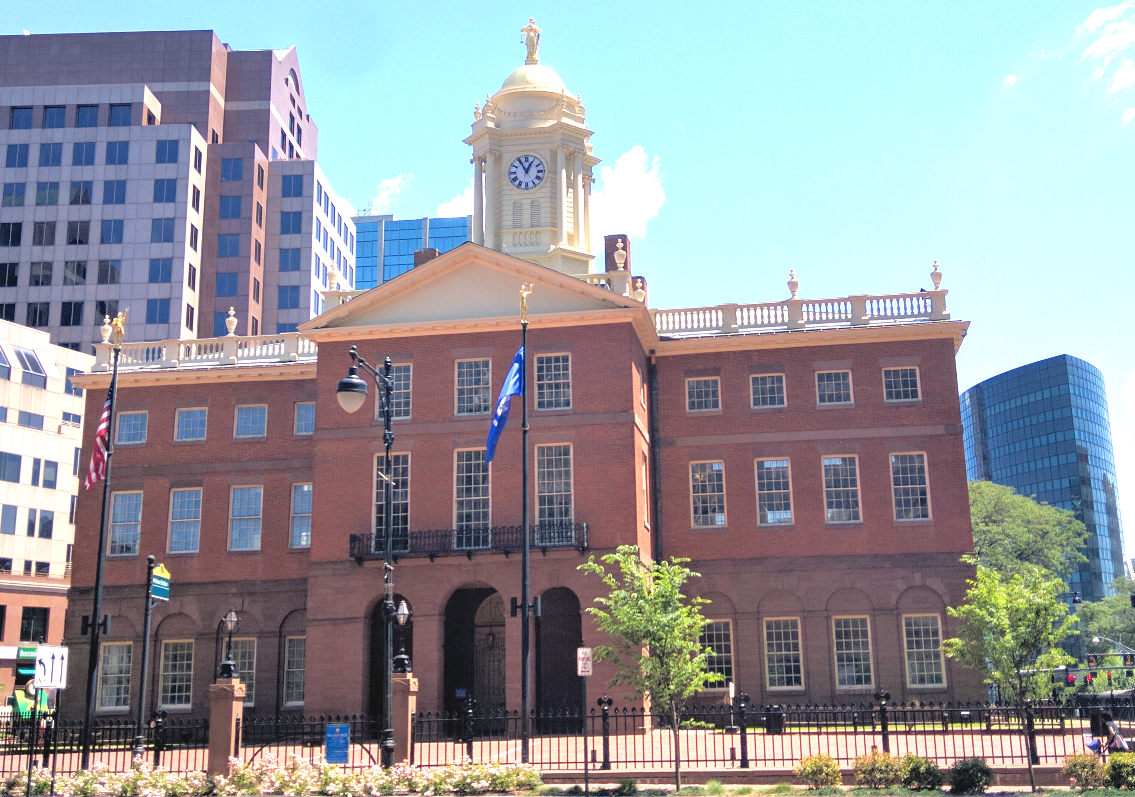 The Old State House in Hartford