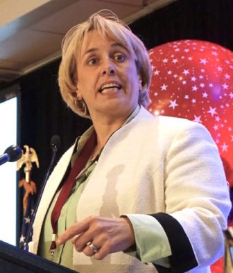 Lori J. Pelletier, president of the AFL-CIO