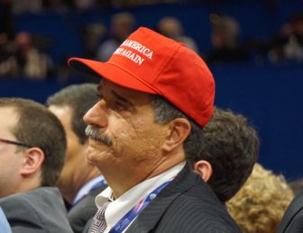 Former Waterbury Mayor Joseph Santopietro in Cleveland.