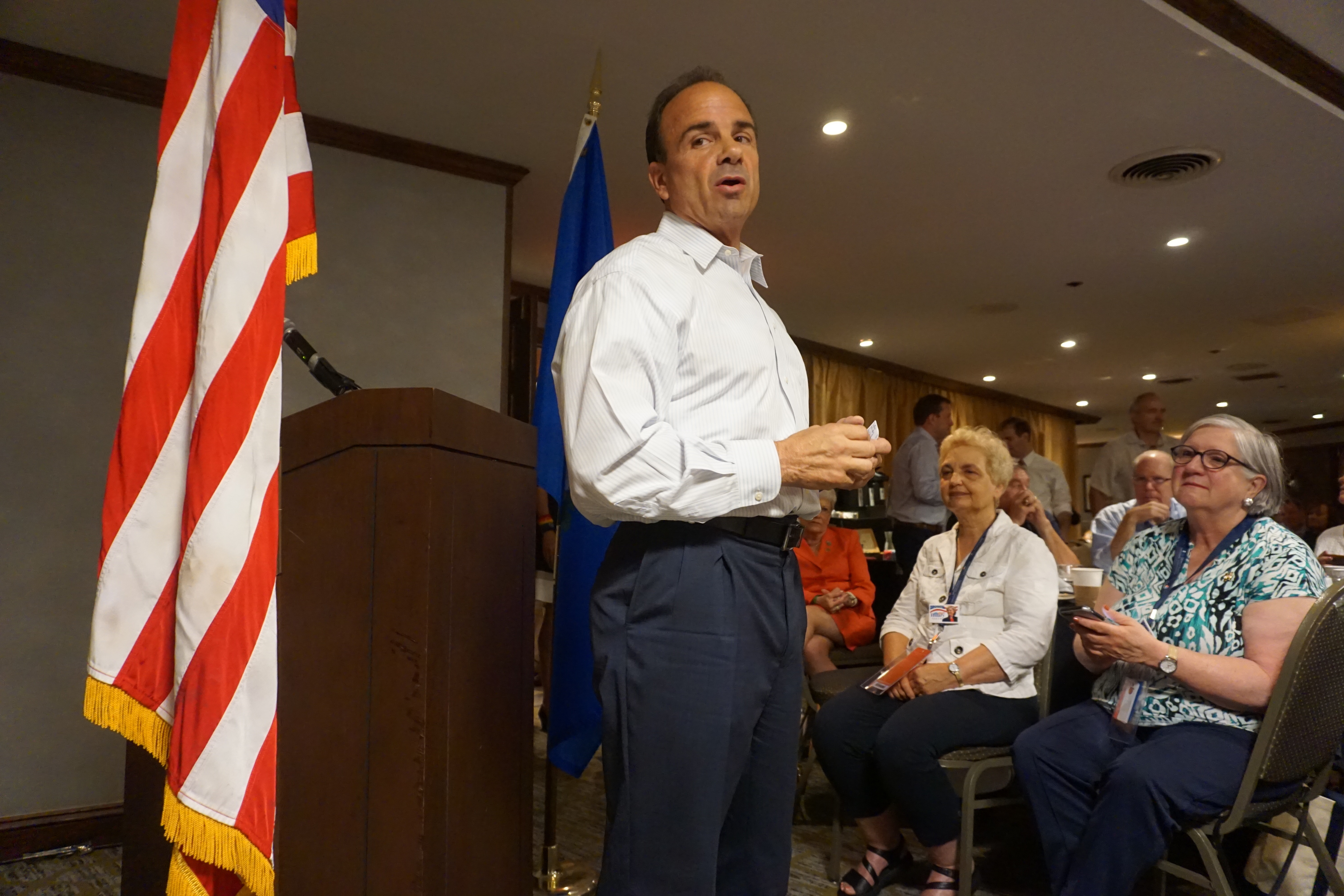 In prison during Obama's election, Ganim a delegate for Hillary