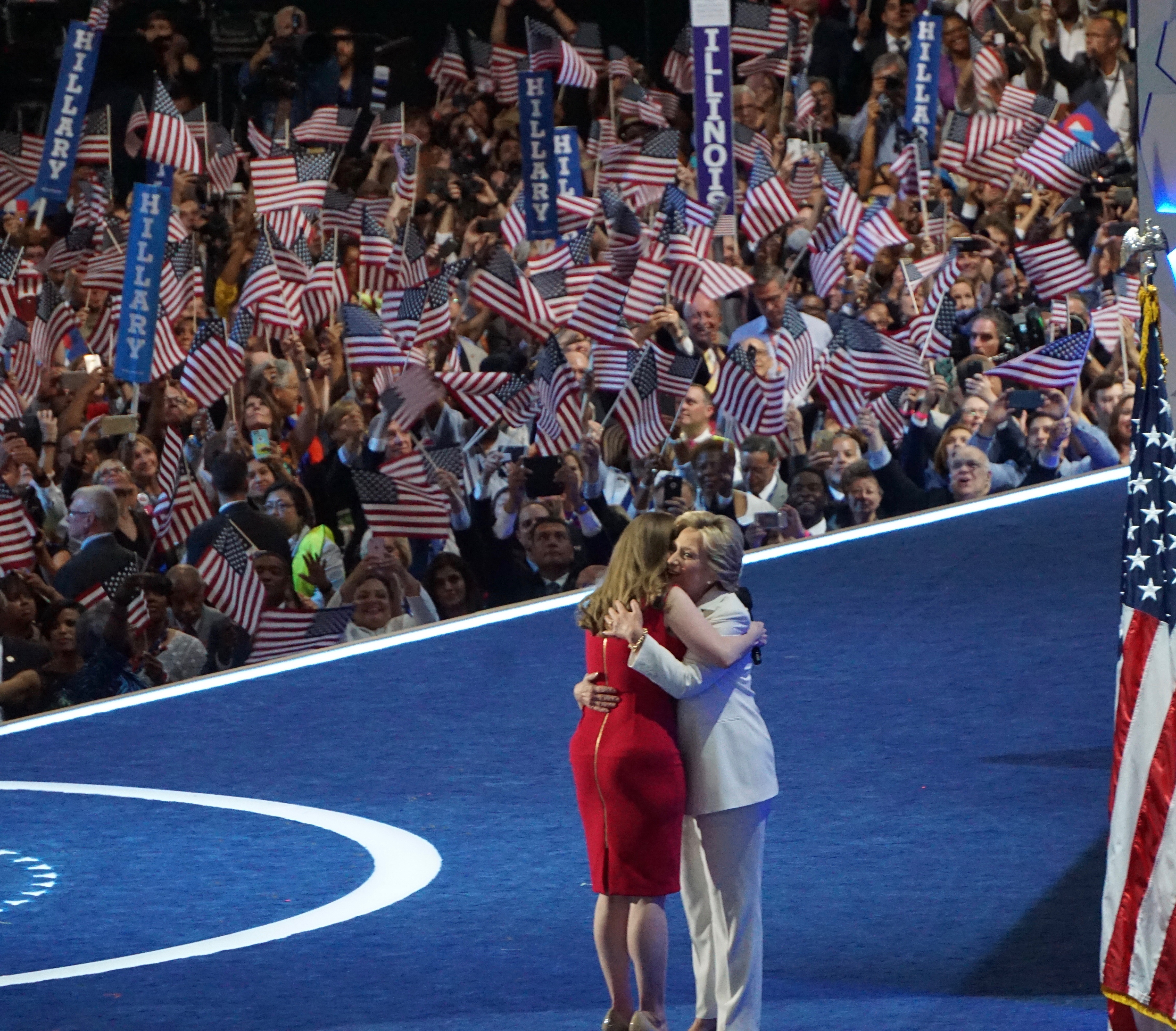 PHOTO GALLERY: The Democratic convention through a CT lens