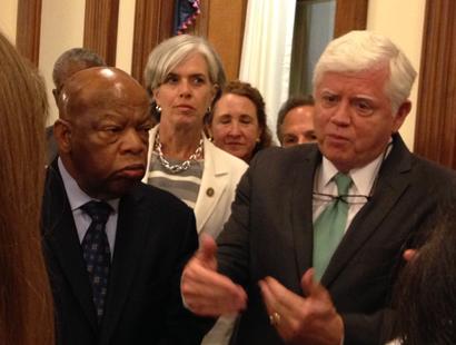 Larson, Lewis meet with Speaker Ryan, but no deal on gun bills vote