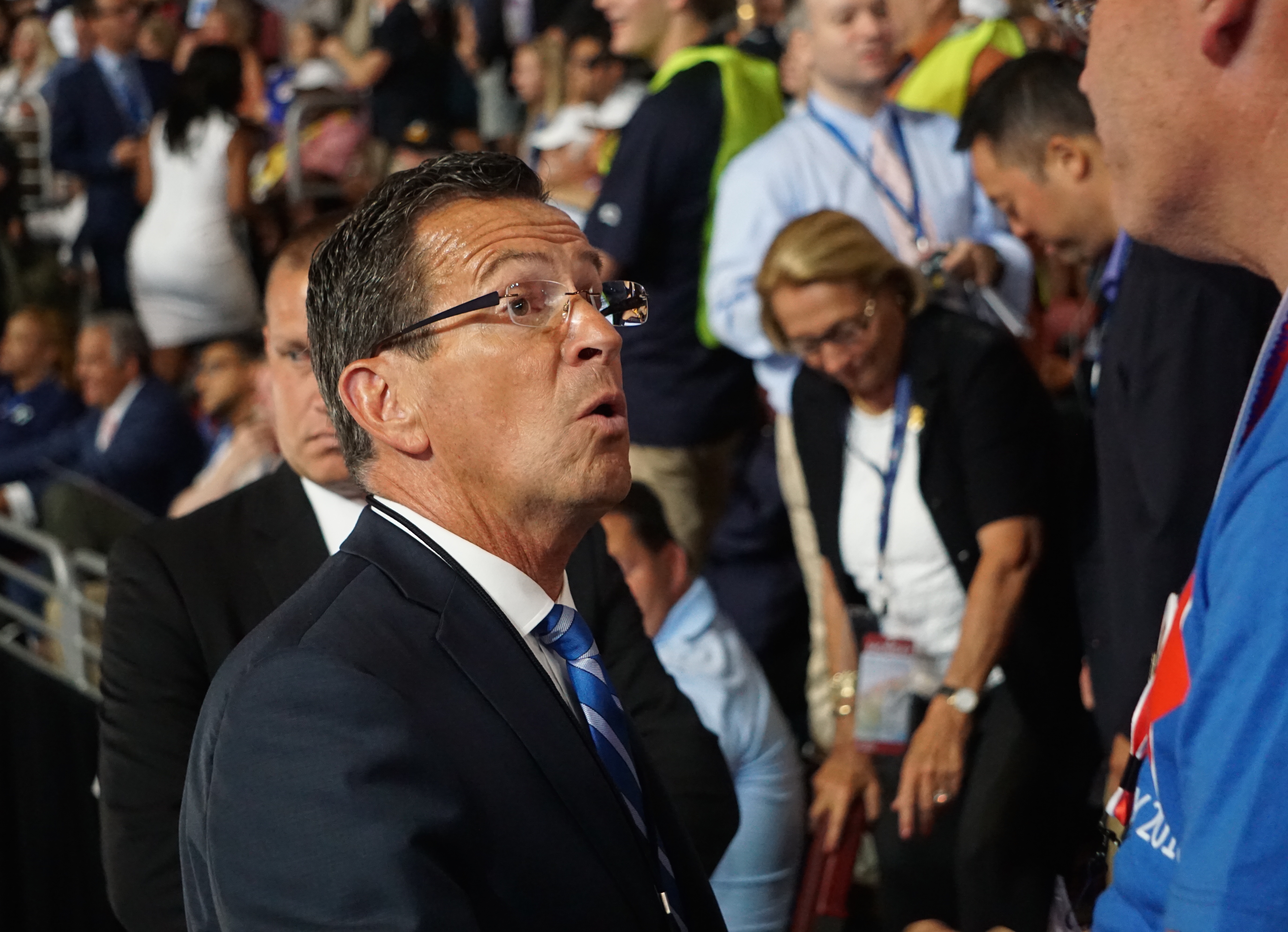 Malloy to attend inaugural as 'signal we are not going away'