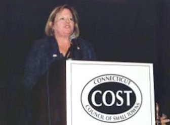 Betsy Gara, executive director of the Council of Small Towns