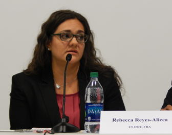 Rebecca Reyes-Alicea, program manager for the Northeast Corridor