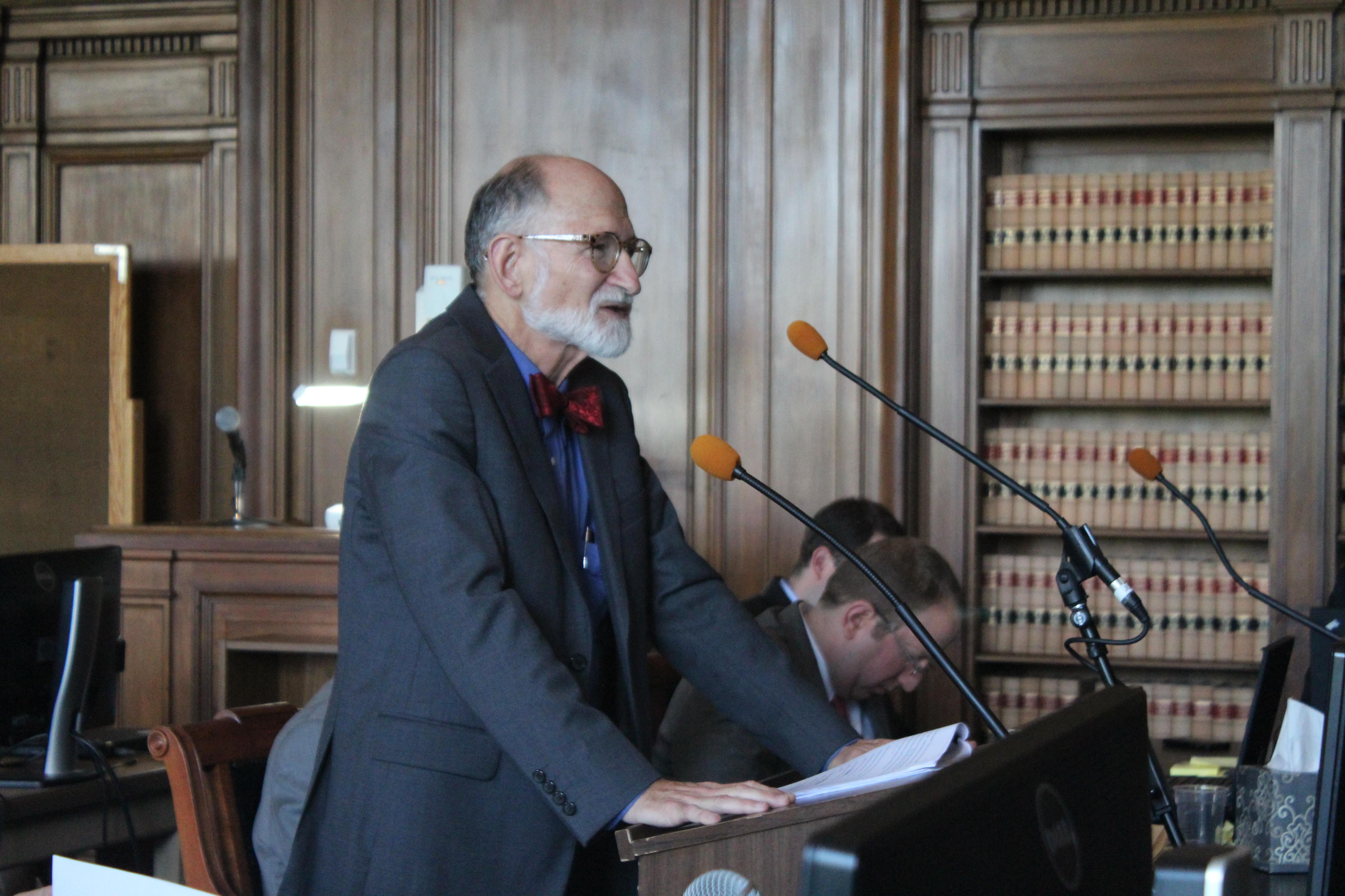 Joseph Rubin, the lead attorney defending the state