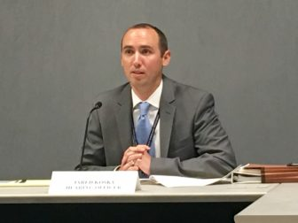 Jared Kosky, who served as hearing officer, will present his final recommendations for action on the proposed increases to the insurance commissioner.