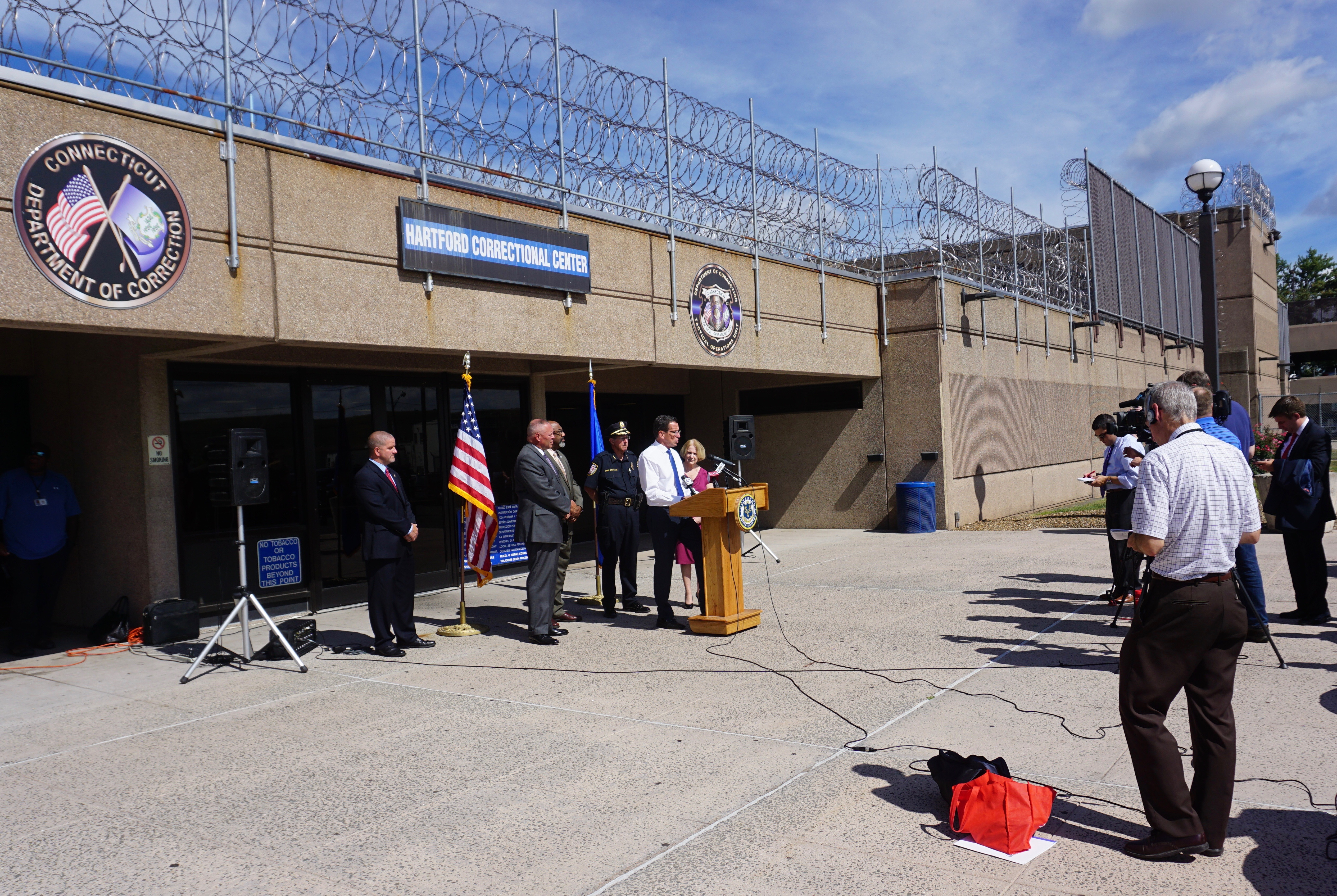 Malloy's new pitch for bail and juvenile justice reforms