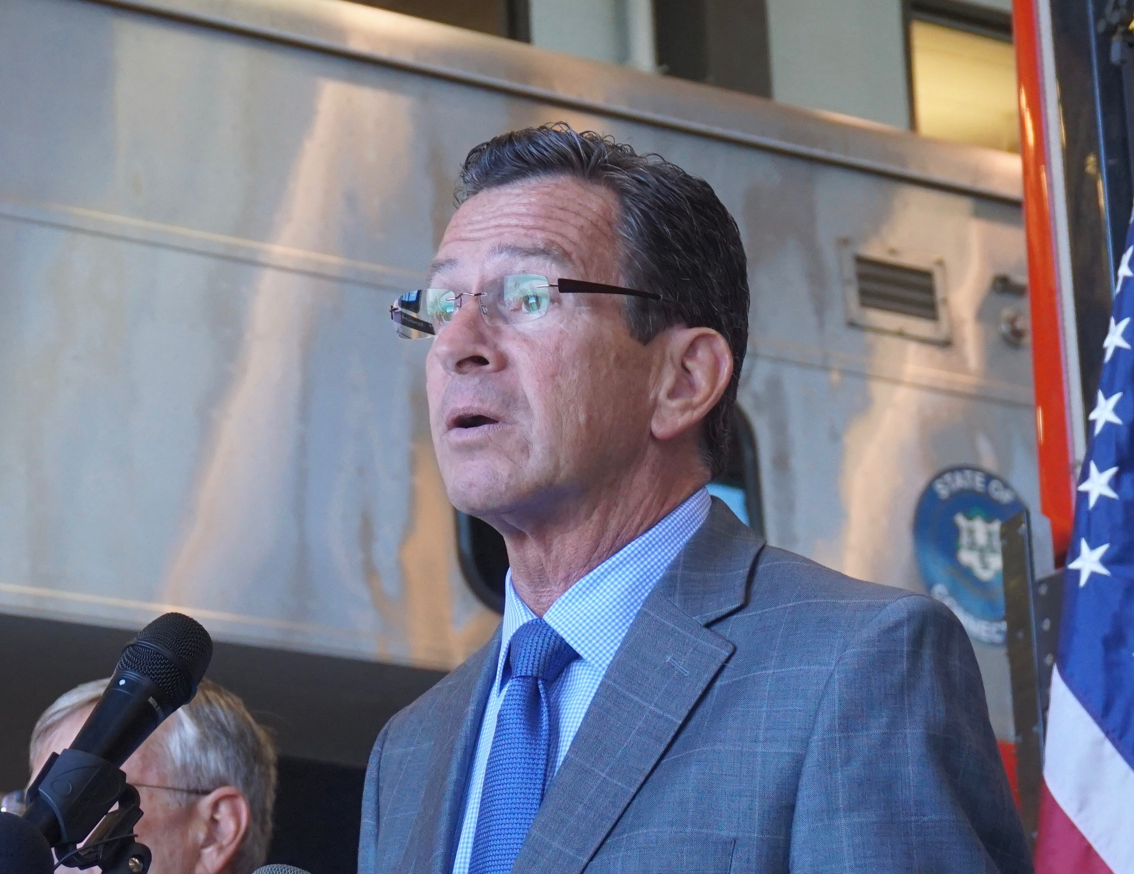 Malloy, a plaintiff and then a defendant, hedges on school appeal