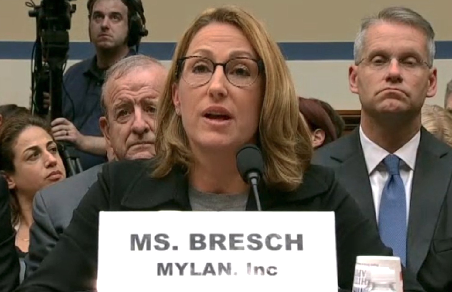 Congress lambastes company CEO over EpiPen price hike