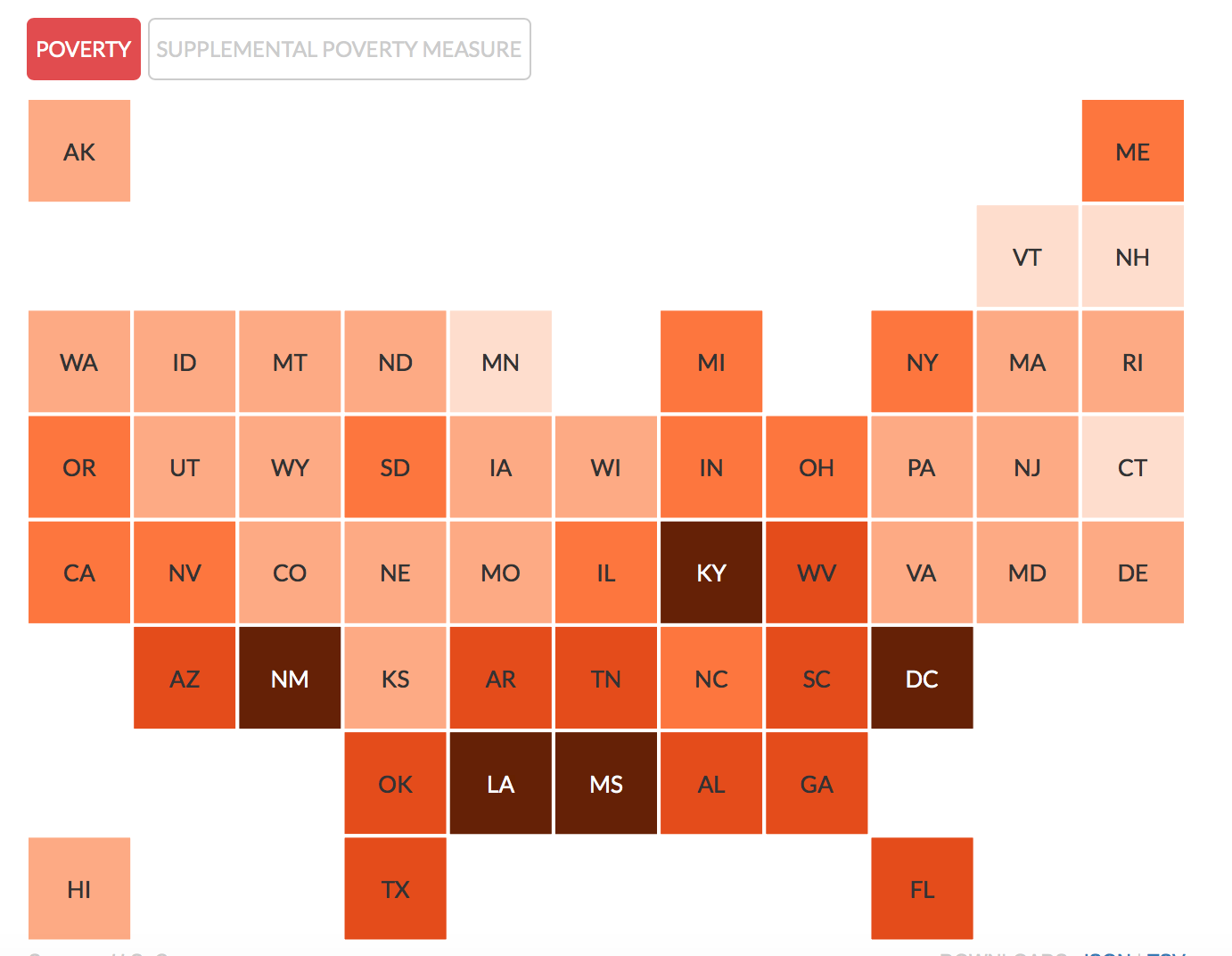 Census: U.S. middle-class incomes rise; poverty, uninsured rates fall
