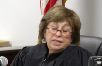 Trial Referee A. Susan Peck tells the feuding parties the court has no jurisdiction.