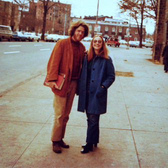 The Clintons in New Haven