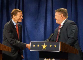Richard Blumenthal and Dan Carter finally meet in a debate/