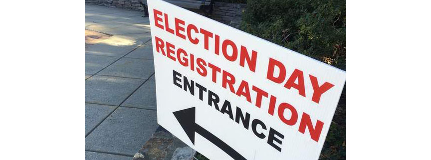 What? 30,000 register to vote in Connecticut at the last minute?