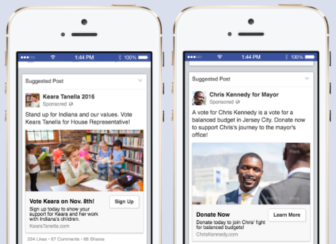 From Facebook's pitch to campaigns.