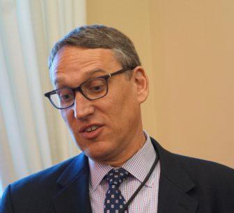 Budget director Benjamin Barnes