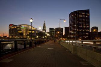 The Hartford skyline