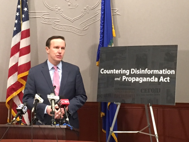 Murphy touts passage of his anti-propaganda bill