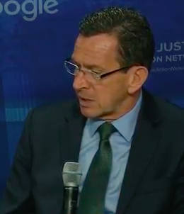 Malloy tells D.C. audience bail reform on his agenda in 2017