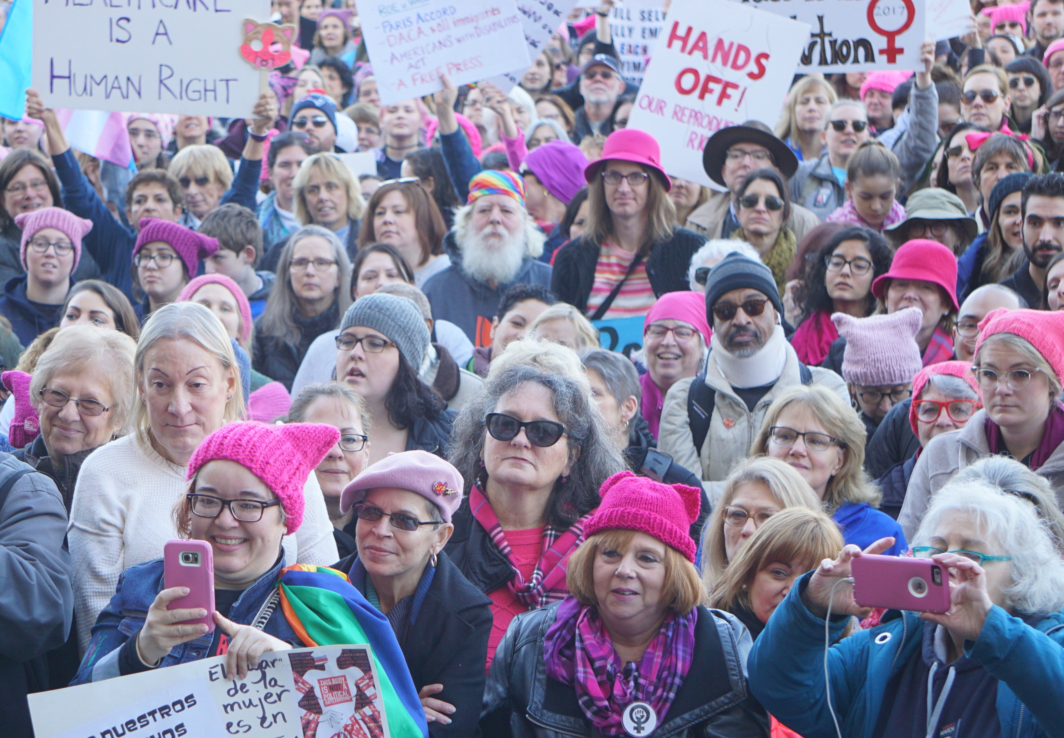 The protests in pictures: Marching in CT and the nation's capital