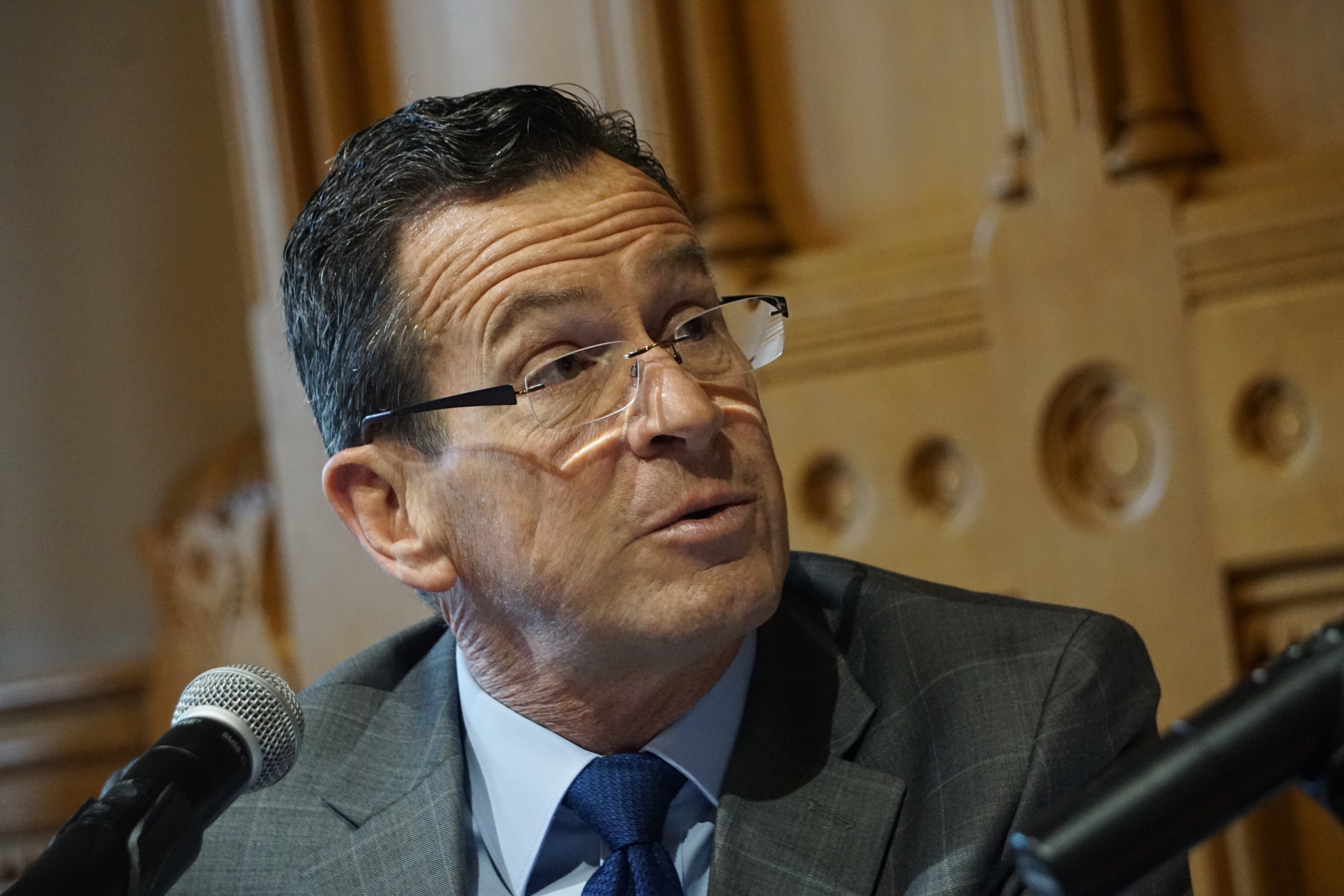 Malloy leaves D.C. feeling bad about ACA, better about infrastructure
